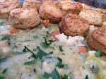 2015-10-25, Chicken cobbler with thyme & an Apley cheddar scone