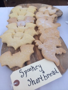 Julie's ghostly shortbread