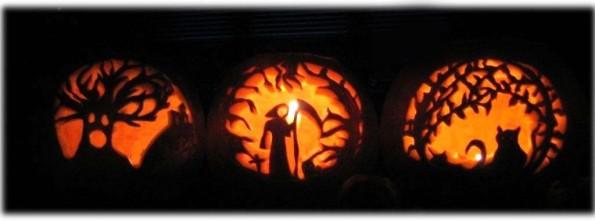 Decent Exposure carved pumpkin