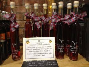 20 Dec 2012, Lord Hamilton's sloe gin 1