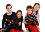 Christmas Jumper Day promotion photo by Lisa Holland