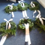 Christmas wreaths by Tina & Willow
