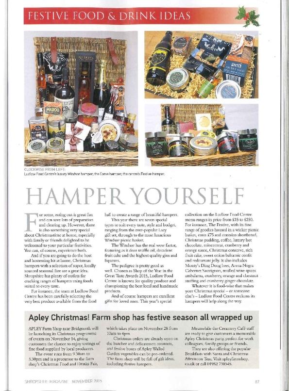 2015-11-19, Shropshire Magazine 2015 page 87
