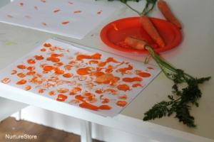 Carrot printing image