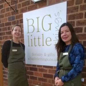Fran and Sarah - big Little Things Florist and gifts Telford