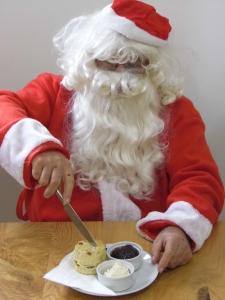 2013-10-14, Festive afternoon tea with Santa 3
