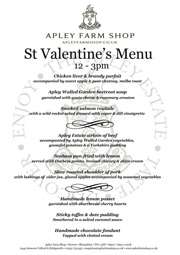 2016-01-14, Valentine's Day menu v4 LH