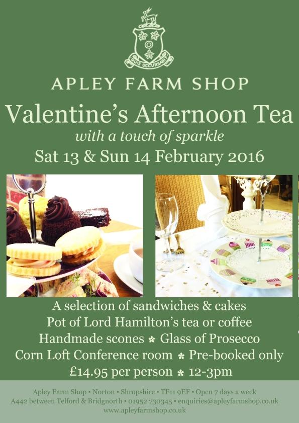 2016-01-15, Valentine's Afternoon Tea poster v5 JPEG