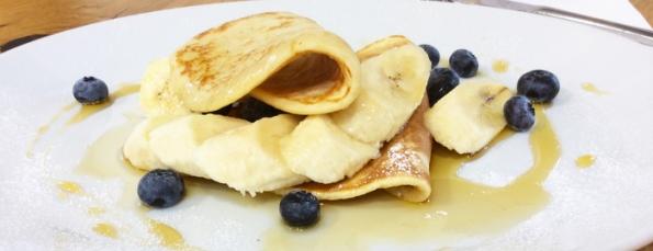 Pancakes from rotating slider