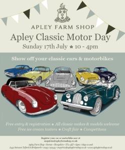 2016-01-18, Apley Classic Motor Day 2016 leaflet