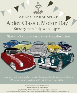 2016-01-18, Apley Classic Motor Day 2016 leaflet