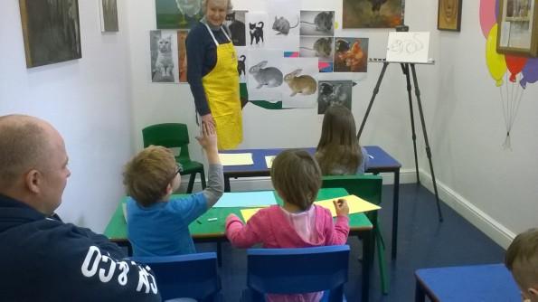 2016-02-19, Cupcake decorating, storytelling & art workshop (25)