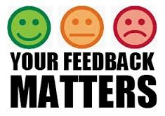 Your feedback matters image