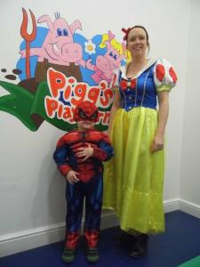 2016-03-03, World book day Amy & Harry