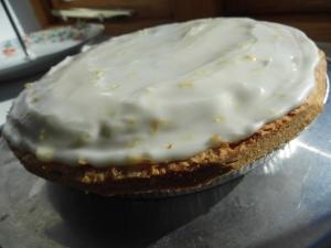 2016-03-07, Lemon Bakewell tart