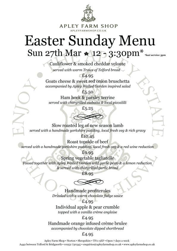 2016-03-16, Easter Sunday menu JPEG LH1