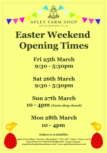 2016-03-16, Easter weekend opening hours