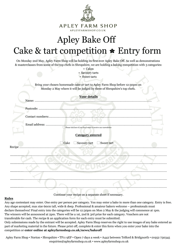 2016-03-16, ABO entry form