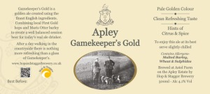 Apley Gamekeeper Gold