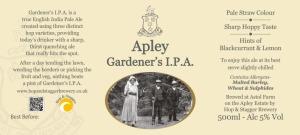 Apley Gardeners IPA