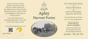 Apley Harvest Porter