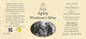 Apley Woodman's Bitter