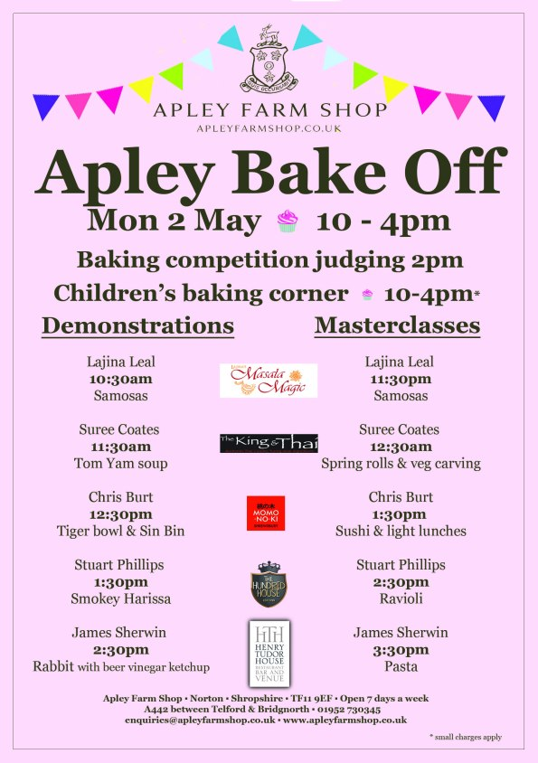 2016-04-20, Bake Off programme FINAL JPEG