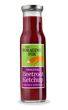 2016-04-22, Foraging Fox ketchup