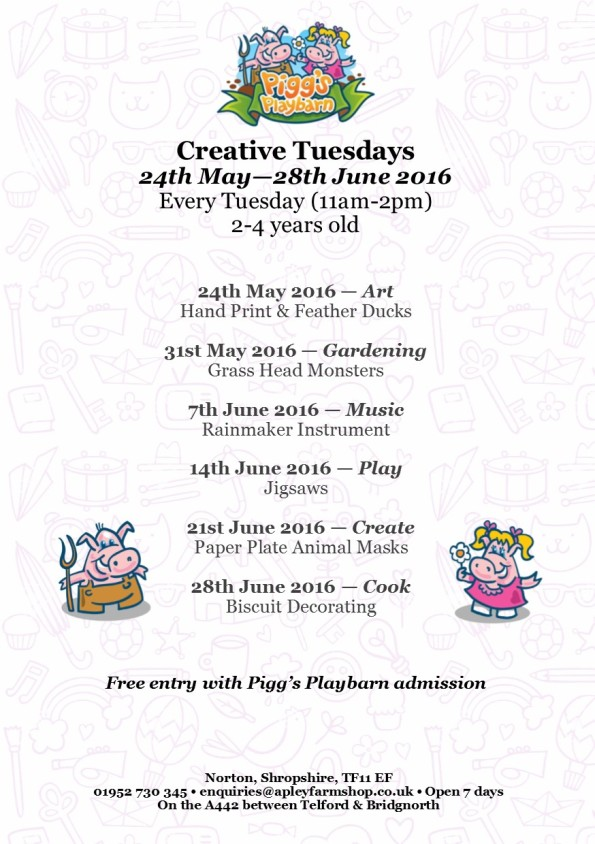 2016-04-25, Tuesday clubs leaflet, May 2016 BRP jpeg