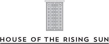 House of the Rising Sun logo, HOTRS logo