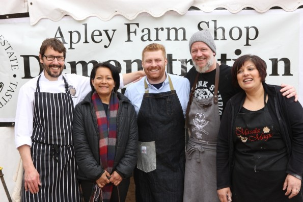 2016-05-02, Apley Bake Off, the 5 chefs
