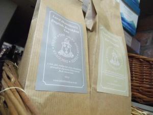 New label for Apley 's own-branded tea