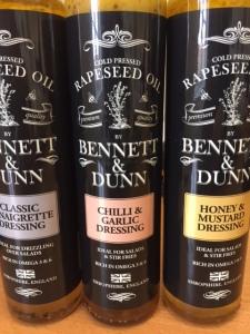2016-05-19, Bennett & Dunn dressings