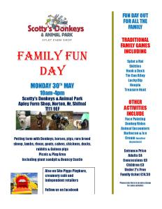 2016-05-23, Scotty s Family fun day 30th May