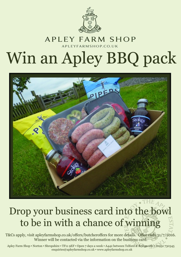 2016-06-01, AFS win BBQ pack
