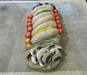Apley Firecracker sausages