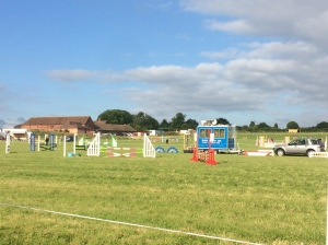 2016-06-25, Show jumping at Apley Farm Shop