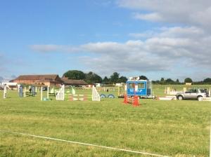 2016-06-25, Show jumping at Apley Farm Shop