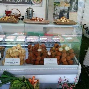 2016-06-26, AFS's Shrewsbury Food Festival stand