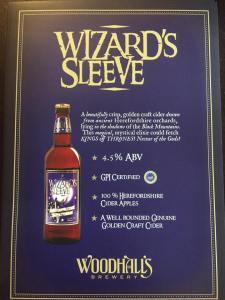 Woodhall's cider