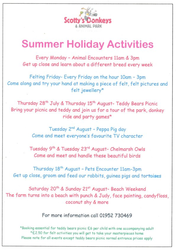 2016-07-27, Scotty's Donkeys & Animal Park summer 2016 activities jpeg