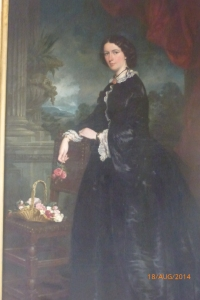 Portrait of Mrs W O Foster, source - Hamilton archives 1