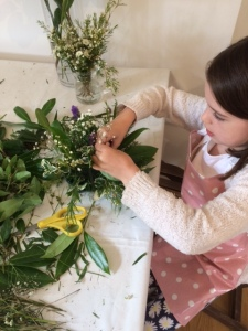 2016-08-13, Big Little Things kids' flower workshop (1)