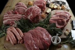 Apley pork meat box