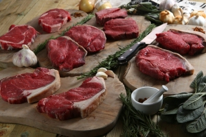 Apley steak meat box