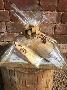 Cheese board donated for local school charity fundraising evening