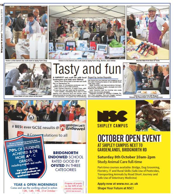 Shropshire Star, Friday 7 Oct 2016