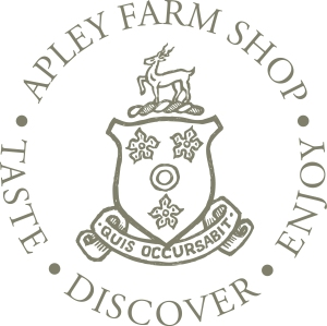 Circular logo of Apley Farm Shop