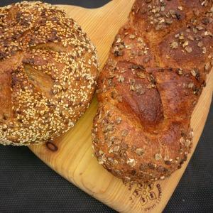 Apley Ale Bread & Apley honey & spelt bread