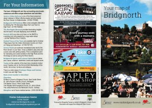 Bridgnorth tourism map 2017